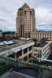 Putten Fargo Tower - Roanoke, Virginia, de V.S. royalty-vrije stock afbeeldingen