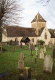 Puttenham St John the Baptist church in England Stock Images