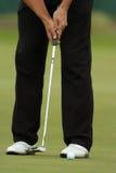 Putter 01 de golf Photos libres de droits