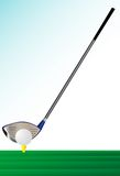 Putter. Easy to edit Royalty Free Stock Image