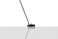 Putter de golf Image libre de droits