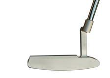 Putter del club de golf Fotografía de archivo