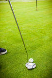 Putter hit Stock Photography