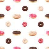 Puttern doughnut Stock Afbeelding
