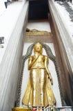 Putthaisawan寺庙阿尤特拉利夫雷斯,泰国的菩萨 库存图片
