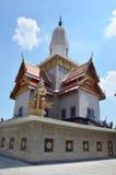 Putthaisawan寺庙阿尤特拉利夫雷斯,泰国 库存照片