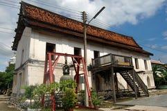Putthaisawan寺庙阿尤特拉利夫雷斯,泰国 免版税库存照片