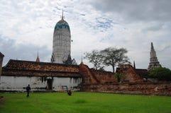 Putthaisawan-Tempel Ayutthaya, Thailand Lizenzfreie Stockfotos