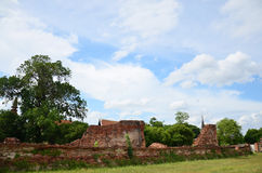 Putthaisawan Temple in Ayutthaya, Thailand Royalty Free Stock Photography