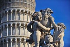 Putti del dei de Fontana del La Foto de archivo libre de regalías