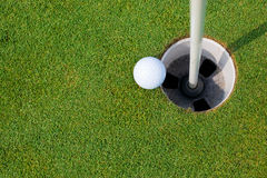 Putting Green Stock Image