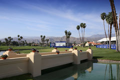 Putting green at the ANA inspiration golf tournament 2015 Royalty Free Stock Images