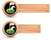 Free Putting Green Sign Royalty Free Stock Photo - 10897335