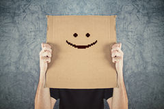 Putting a happy face on Stock Photography