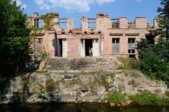 Puttkamer palace in Karzniczka, Poland Stock Photo