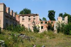Puttkamer palace in Karzniczka, Poland Stock Images