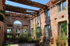 Puttkamer palace in Karzniczka, Poland Royalty Free Stock Photo