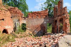 Puttkamer palace in Karzniczka, Poland Stock Photography
