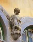 Putto in Sighisoara, Transylvania, Romania Stock Photo