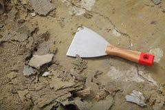 Putty εργαλείο μαχαιριών στοκ φωτογραφία με δικαίωμα ελεύθερης χρήσης