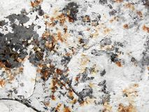 Putty knife surface. Extreme close-up of rusty putty knife surface Royalty Free Stock Photos