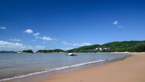 Putuo Mountain JinSha beach Royalty Free Stock Photos