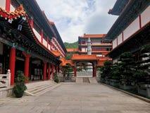 Putuo tempel royaltyfri fotografi