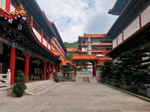 Putuo temple royalty free stock photography
