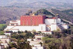 Putuo Zongcheng Temple. (copy of Potala palace of Lhasa), Chengde, Hebei province, China Stock Images