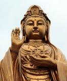PUTUOSHAN,中国-女神观音工业区雕象  库存照片
