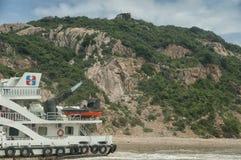 Putuoshan Ferry Stock Image