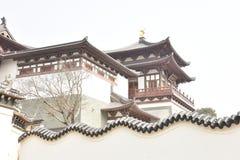 Putuoshan tempel Royaltyfri Foto