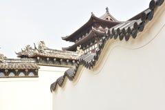 Putuoshan-Tempel Lizenzfreie Stockfotos