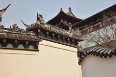 Putuoshan temple Royalty Free Stock Images
