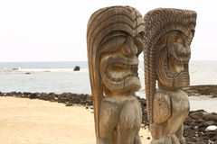 Puuhonua O Honaunau (City of Refuge) National Park, Hawaii Royalty Free Stock Photography