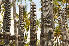 Puuhonua O Honaunau (City of Refuge) National Park, Hawaii Stock Photo