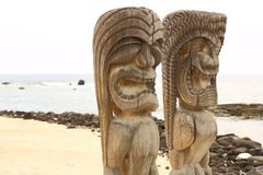 Puuhonua O Honaunau (City of Refuge) National Park, Hawaii Stock Photography