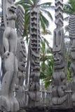 Puuhonua o Honaunau Krajowy Dziejowy park, Duża wyspa, Hawaje obraz royalty free