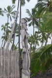 Puuhonuao Honaunau Nationaal Historisch Park, Groot Eiland, Hawaï royalty-vrije stock afbeelding