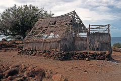 Puukohala Heiau Big Island of Hawaii Royalty Free Stock Photo