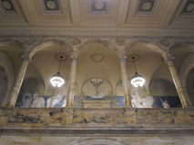 Puvis de Chavannes Gallery, κτήριο McKim, δημόσια βιβλιοθήκη της Βοστώνης, Βοστώνη, Μασαχουσέτη, ΗΠΑ Στοκ εικόνα με δικαίωμα ελεύθερης χρήσης