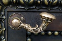 Puxador da porta Imagem de Stock Royalty Free