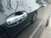 Puxador da porta do carro do carro Imagem de Stock Royalty Free