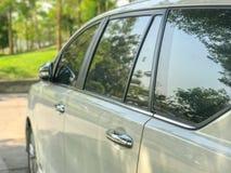 Puxador da porta do carro Fotos de Stock Royalty Free