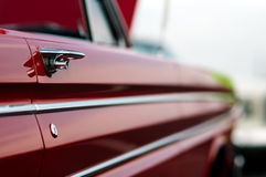 Puxador da porta do carro do vintage Imagens de Stock Royalty Free