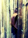 Puxador da porta do celeiro Imagem de Stock