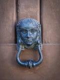 Puxador da porta egípcio do símbolo Fotos de Stock Royalty Free