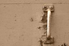Puxador da porta oxidado Fotos de Stock Royalty Free