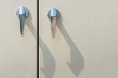 Puxadores da porta Imagens de Stock
