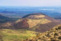 Puy de Dome山顶奥韦涅 库存图片